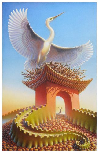 Crane Gate Giclee Edition 16x24