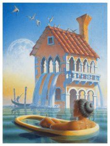 Bath House Gicle edition 18x24