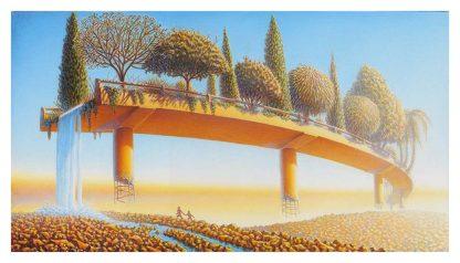 Eden Overpass Giclee edition 20x36