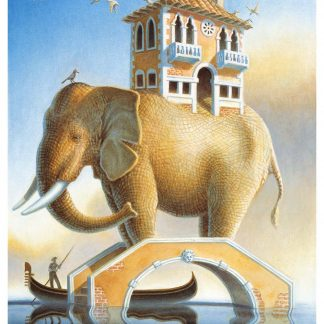 Elephant Bridge Giclee edition 22 x 18