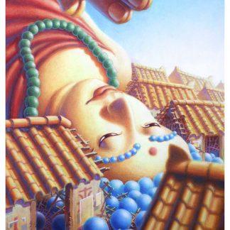 Fallen Buddha Giclee Edition 18x22
