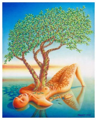 Madrone Heart Giclee edition 16x20 2020