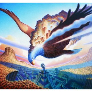 Peonix Eagle Giclee edition 18x22.5