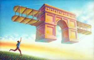 Arch Wings Giclee Edition 24x15.5 2020
