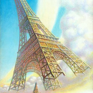 Eiffel_Holiday 2 Giclee Edition 24x15 2020