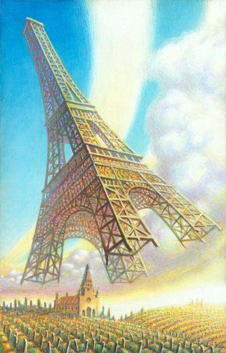 Eiffel_Holiday 2 Giclee Edition 24x15 2020