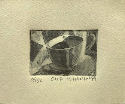 Cup (impression), ink on paper, 5.5x4.75, 1999