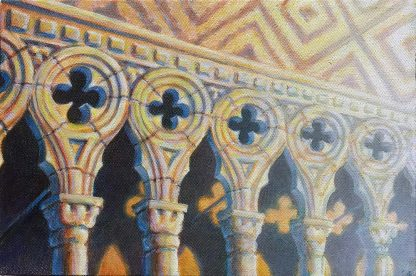 """""""Doges Palace II"""" (Study) 8"""" X 12"""" oil on canvas 2004"""