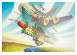 Onward , Giclee Edition, 18x24, 2021